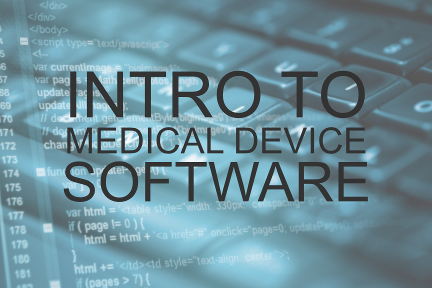 Intro to medical device software