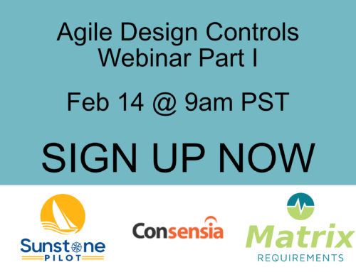 Agile Design Controls: How to Support Rapid Design Iterations for SW-Intensive Medical Devices