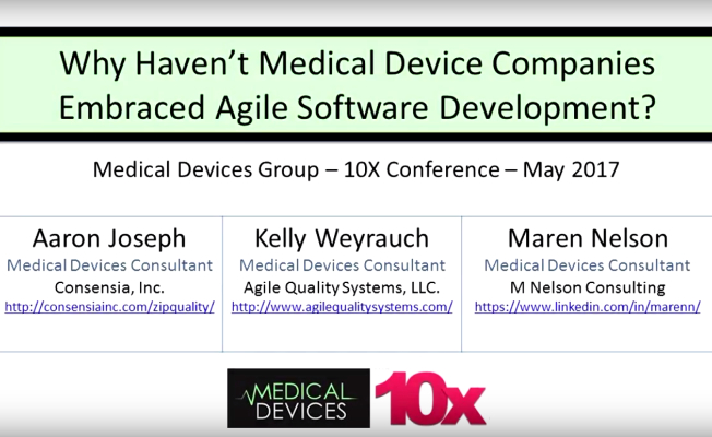 Agile for Medical Devices