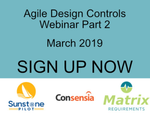 Agile Design Controls Part 2 Webinar: Dynamic Risk Management for SW-Intensive Medical Devices
