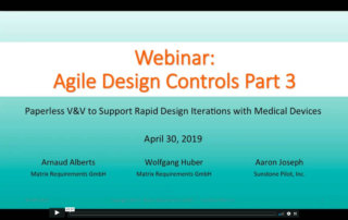 Agile Design Controls V&V